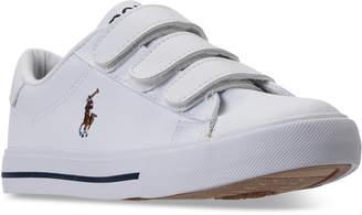 Polo Ralph Lauren (ポロ ラルフ ローレン) - Polo Ralph Lauren Little Boys' Easten Ii Ez Casual Sneakers from Finish Line