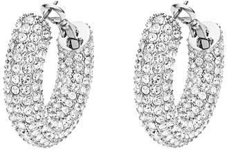 Swarovski x Christopher Kane Bolster Small Hoop Earrings