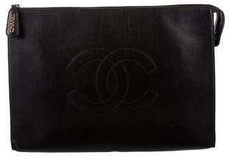 Chanel Portfolio Clutch
