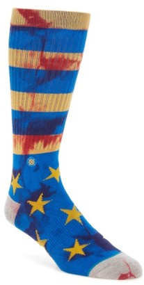 Men's Stance Sidereal Crew Socks $12 thestylecure.com