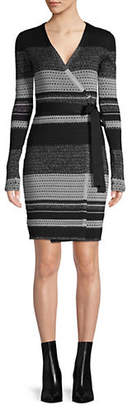 Diane von Furstenberg Wrap Knee-Length Dress