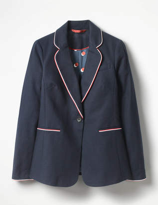 Boden Lilah Cotton Blazer