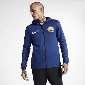 Nike Men's NBA Hoodie Golden State Warriors Therma Flex Showtime