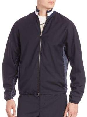 3.1 Phillip Lim Mockneck Zip Front Jacket