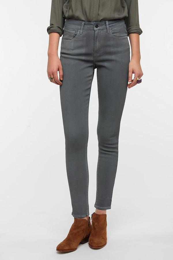 Levi's High-Rise Skinny Jean - Grey Lacquer