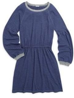 Splendid Girl's Striped Jersey Midi Dress