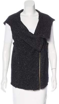 Helmut Lang Hooded Merino Wool Vest