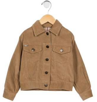 Burberry Infants' Corduroy Button- Up Jacket brown Infants' Corduroy Button- Up Jacket