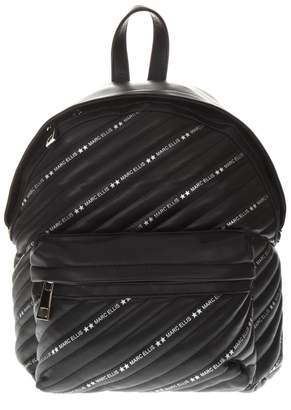 Marc Ellis Marc Ellis Black Faux Leather Backpack