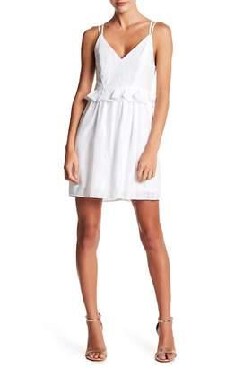 BCBGeneration Strappy V-Neck Dress
