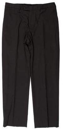 Prada Pinstripe Wool Dress Pants