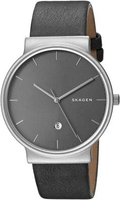 Skagen Men's SKW6320 Ancher Titanium Analog Quartz