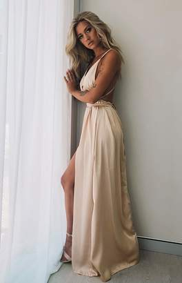 e6cddb8f0c8e Champagne Evening Dress - ShopStyle Australia