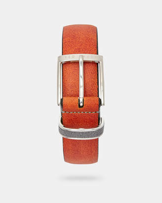 Ted Baker CARRILO Waxed suede belt