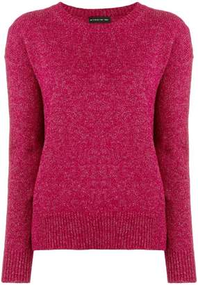 Etro sparkle crew neck sweater