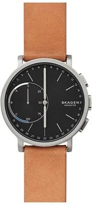 Skagen Hagen Connect Hybrid Smart Watch, 42Mm $215 thestylecure.com