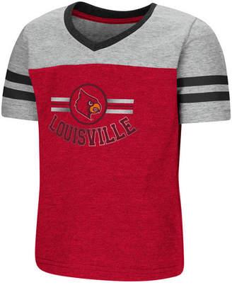 Colosseum Louisville Cardinals Pee Wee Football T-Shirt, Toddler Girls (2T-4T)