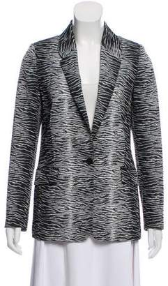 Timo Weiland Patterned Notch-Lapel Blazer