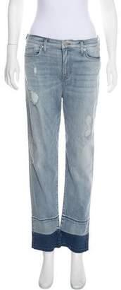 Hudson High-Rise Straight-Leg Jeans