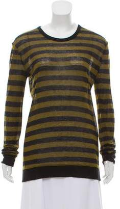 Alexander Wang Striped Knit Top
