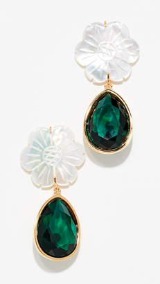 Lizzie Fortunato Lily Pad Earrings