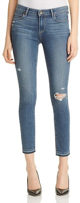 PAIGE Verdugo Ankle Jeans in Lexi Destructed $209 thestylecure.com