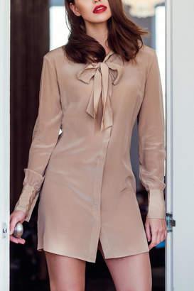 Sophie Cameron Davies Silk Bow Dress