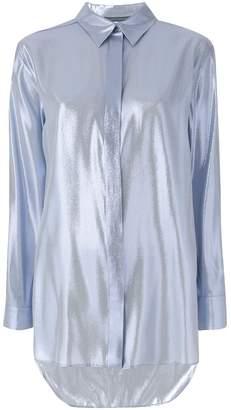 Alberta Ferretti longline classic shirt