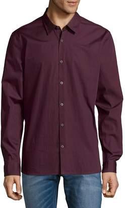 John Varvatos Men's Slim-Fit Cotton Button-Down Shirt
