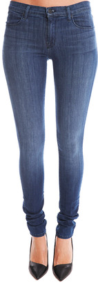 J Brand Mid Rise Stacked Skinny Jean