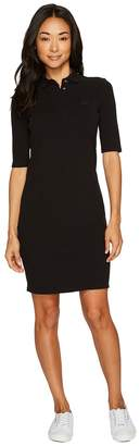 Lacoste 1/2 Sleeve Stretch Pique Polo Dress Women's Dress