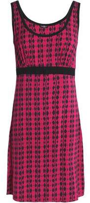 Cosabella Fluted Printed Stretch-Jersey Dress