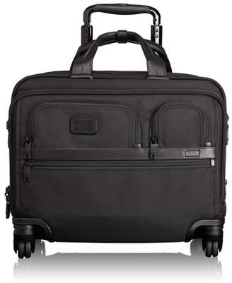 Tumi 4-Wheel Deluxe Laptop Case, Black