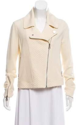 Chanel Wool Moto Jacket