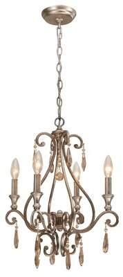 Avon Astoria Grand 4-Light Candle Style Chandelier Astoria Grand