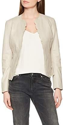 Bata Women's 974179 Jacket, (Beige 8), Large