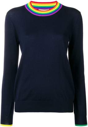 Burberry fitted basic jumper