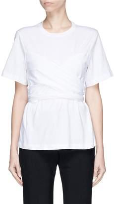 Proenza Schouler Tie mock corset T-shirt