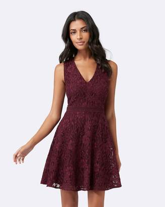 Forever New Kenzie Tierred Lace Dress