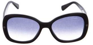 Lanvin Gradient Oversize Sunglasses