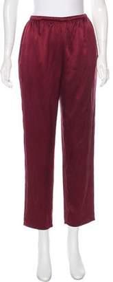 Ungaro Emanuel by High-Rise Silk Pants