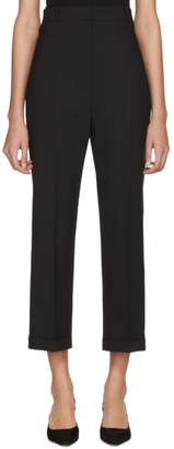Jacquemus Black Le Pantalon Droit Trousers