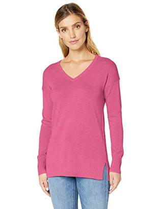 Amazon Essentials Women's V-Neck Tunic Sweater