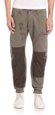 G Star Powel 3D Tapered Cuffed Trousers