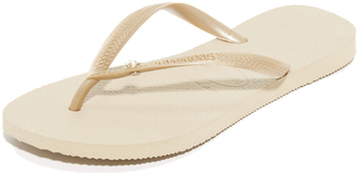 Havaianas Slim Crystal Glamour Flip Flops $36 thestylecure.com