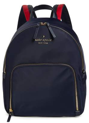 Kate Spade Watson Lane - Hartley Varsity Stripe Nylon Backpack