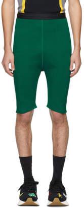 Marni Green Knit Shorts
