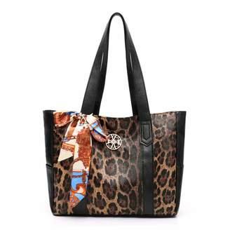 811e675ccda0 Segater Women Leopard print Top Handle Handbags Classic Elegant Ladies Shoulder  Bags Tote PU leather Bag