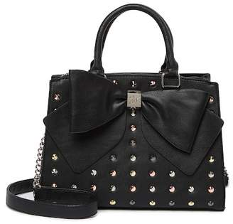 Betsey Johnson Stud Bow Satchel