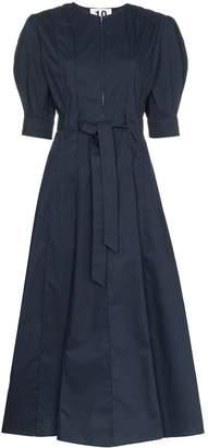 Ten Pieces x Rude pouf sleeve mid dress